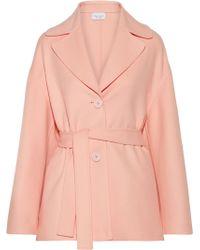 Mansur Gavriel - Oversized Belted Wool And Cashmere-blend Coat - Lyst