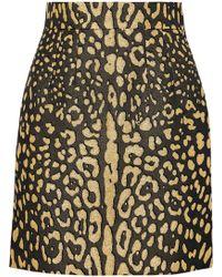 Dolce & Gabbana - Brocade Mini Skirt - Lyst