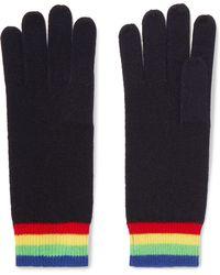 Madeleine Thompson - Elba Striped Cashmere Gloves - Lyst