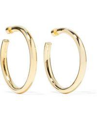 Jennifer Fisher Samira Gold-plated Hoop Earrings - Metallic