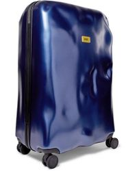 Crash Baggage Icon Large Hardshell Suitcase - Blue