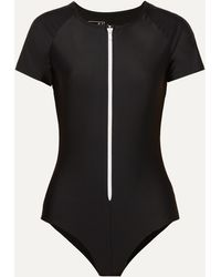 Cover + Net Sustain Stretch Recycled Swimsuit - Black