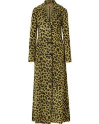 Missoni - Leopard-print Knitted Coat - Lyst