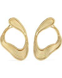 Fernando Jorge - Stream Lines 18-karat Gold Earrings Gold One Size - Lyst