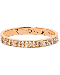 Repossi - Berbère 18-karat Rose Gold Diamond Ring - Lyst