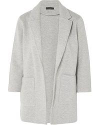 J.Crew - Hannah Knitted Cotton-blend Blazer - Lyst