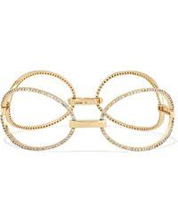 Ileana Makri - Empty Mirror 18-karat Gold Diamond Bracelet - Lyst