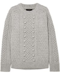 J.Crew - Azra Cable-knit Sweater - Lyst