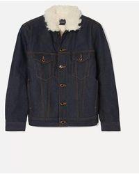 Khaite Trimmed Jacket - Blue