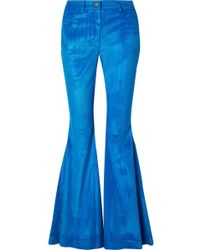 Rosie Assoulin - Cotton-blend Corduroy Flared Pants - Lyst