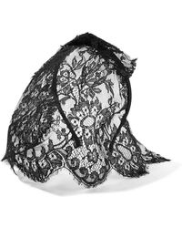 Maison Michel - Tina Lace Veiled Headband - Lyst