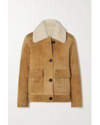 Officine Generale Maria Shearing Jacket - Multicolour