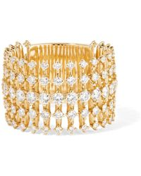 Fernando Jorge - Disco 18-karat Gold Diamond Ring - Lyst