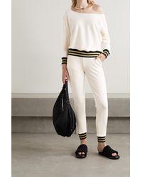 L'Agence Pull Asymétrique En Coton Et Modal Mélangés Stretch Kimora - Blanc