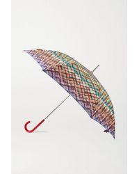Missoni Parapluie En Tissu Technique Imprimé Des Gaia - Noir