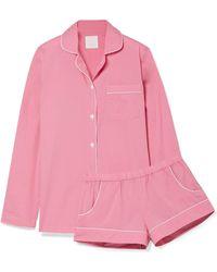 Three J Nyc | Josephine Cotton-poplin Pyjama Set | Lyst