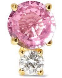 Jemma Wynne - 18-karat Gold, Sapphire And Diamond Earring - Lyst