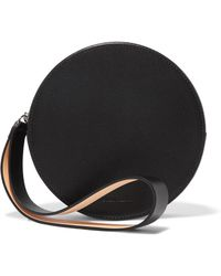Building Block | Puck Leather Clutch | Lyst