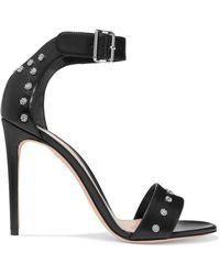 Alexander McQueen - Studded Leather Sandals - Lyst