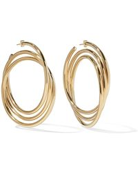 Marc Jacobs - Gold-plated Hoop Earrings - Lyst