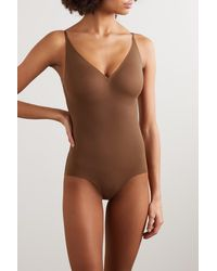 Heist The Outer Shaping Bodysuit - Brown