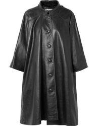Balenciaga - Oversized Printed Textured-leather Jacket - Lyst