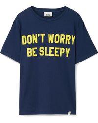 Sleepy Jones | Jackson Printed Cotton T-shirt | Lyst