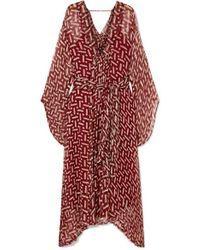 Cloe Cassandro Gabriella Printed Silk-crepon Kimono