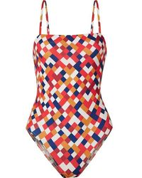 Eres - Mosaic Actrice Printed Swimsuit - Lyst