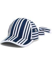 516fa8ddd2b adidas Originals - + Ji Won Choi Striped Cotton-twill Baseball Cap - Lyst