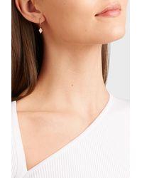 Diane Kordas - 18-karat Rose Gold Diamond Earring - Lyst