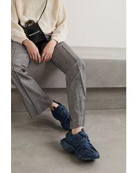 Balenciaga Triple S Clear Sole Sneaker - Blau