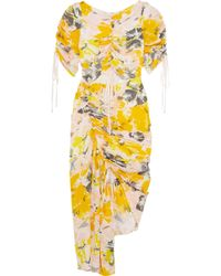 Alice McCALL - Soiree Gathered Cutout Dress - Lyst
