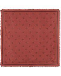 Chloé - Paisley-print Silk-twill Scarf - Lyst