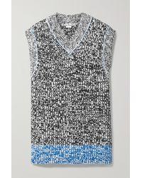 Acne Studios - Ärmelloser Oversized-pullover Aus Strick - Lyst
