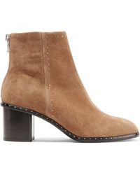Rag & Bone - 'willow' Heeled Ankle Boots - Lyst