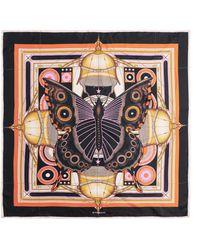 Givenchy | Printed Silk-twill Scarf 90x90 | Lyst