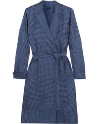 J.Crew - Gilbert Polka-dot Silk-satin Dress - Lyst