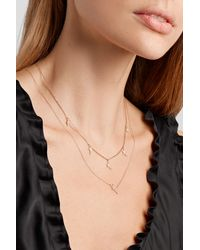 Diane Kordas Star 18-karat Rose Gold Diamond Necklace - Metallic