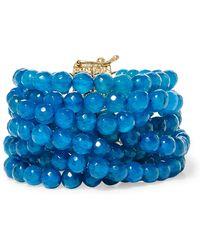 Rosantica - Raissa Gold-tone Quartz Bracelet - Lyst