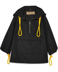 Burberry - Oversized Rope-detailed Shell Jacket - Lyst