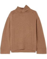 By Malene Birger - Aleya Oversized Wool-blend Turtleneck Sweater - Lyst