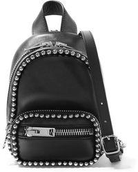 Alexander Wang - Attica Studded Leather Shoulder Bag - Lyst