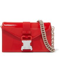Christopher Kane - Devine Patent-leather Shoulder Bag - Lyst