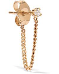 Loren Stewart - Gold Diamond Earring - Lyst