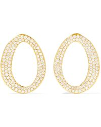 Ippolita - Cherish 18-karat Gold Diamond Earrings - Lyst
