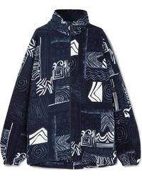 Balenciaga - Oversized Fleece Jacket - Lyst