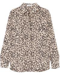 Altuzarra - Chika Leopard-print Silk Crepe De Chine Shirt - Lyst