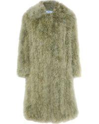 Prada - Feather Coat - Lyst