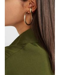 Jennifer Fisher Samira Vergoldetes Ear Cuff - Mettallic